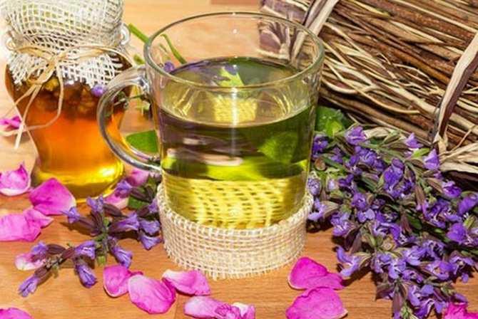 состав монастырского чая для похудения пропорции