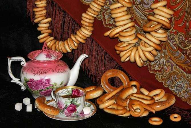 Бублики и чай