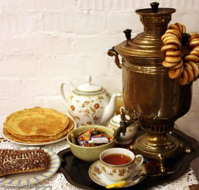 Праздник и чай