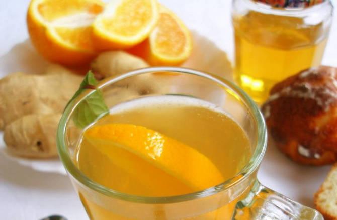 имбирный чай для похудения рецепт огурец