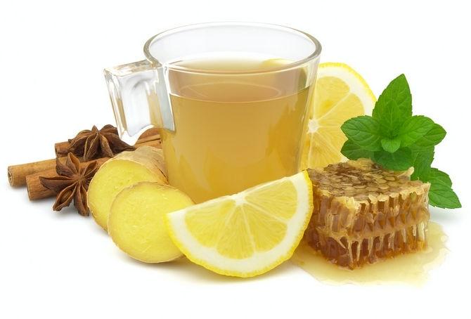 Как заварить чай с имбирем и медом