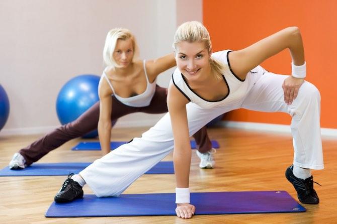 фото похудение упражнения
