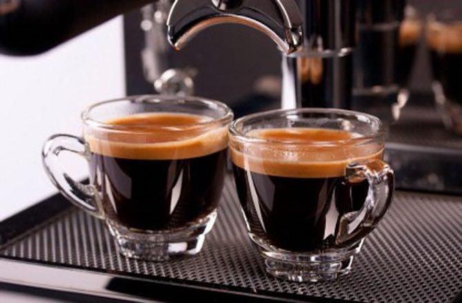 рецепт приготовления кофе эспрессо в кофемашине