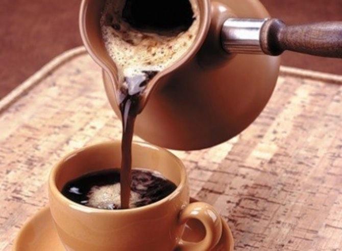 Как лучше варить кофе в турке