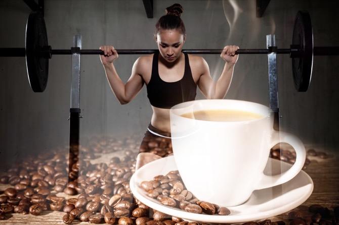 Кофе после тренировки