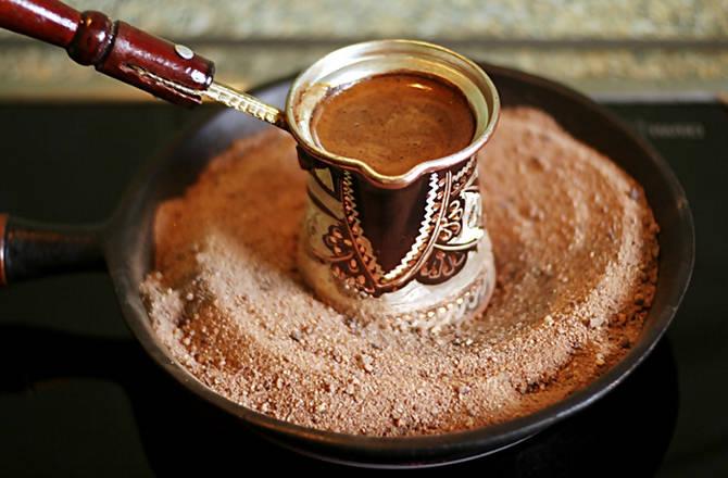 рецепты кофе по восточному в домашних условиях