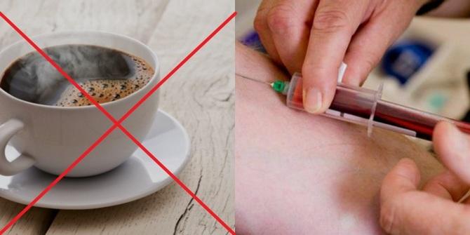 Можно ли пить кофе перед анализом крови